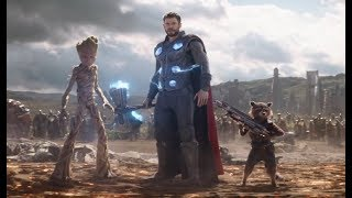 Подать мне Таноса! Тор Ракета и Грут Прибывают в Ваканду - Момент из Фильма  🎬