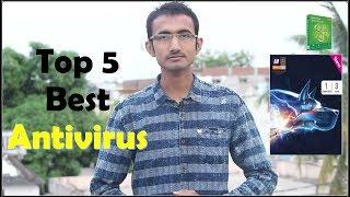 Top 5 Best Antivirus for windows 7/8/10 || How Antivirus Works?