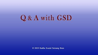 Q & A with GSD 020 with CC