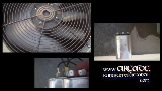 How To Split Air Conditioner Dual Cap Into Two Single Separate Capacitors For Compressor Plus Fan