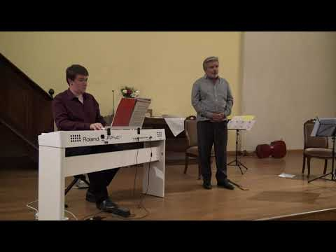 Georges Bizet, Agnus dei pour voix et piano<br /><br /> Antoine Normand ténor, Philippe Hattat piano<br />Temple de Dieulefit, 19 août 2020