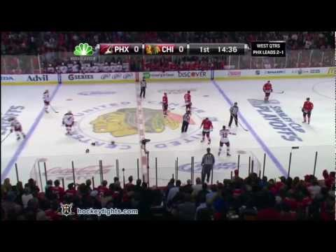 Brandon Bollig vs. Paul Bissonnette