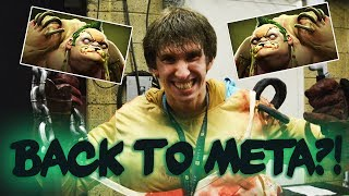 Dendi is Back with his Legendary Pudge! Back to Solo Mid Pudge Meta? Dota 2 Gameplay