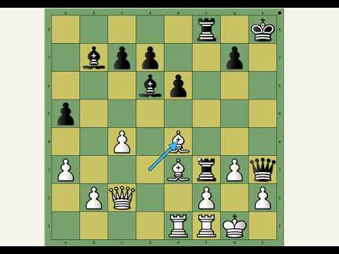 Neverovatna matna kombinacija ~ SMYTH vs HELMS ~ Holandska odbrana  # 1373