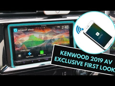 Review Kenwood 2019 AV Line Now With Kenwood Wireless Apple CarPlay