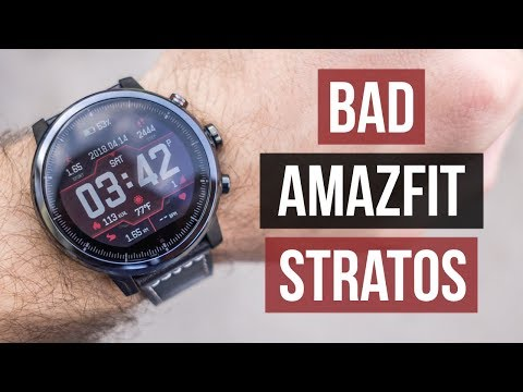 Xiaomi Amazfit Stratos This is what is REALLY BAD about IT Official English Version