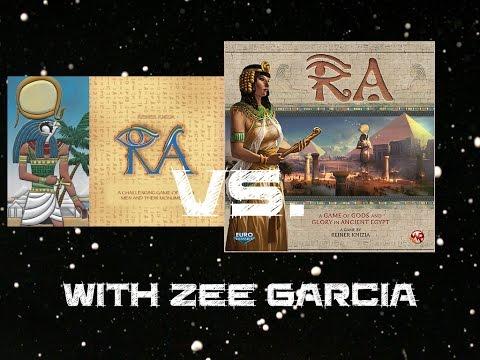 Ra Comparison - with Zee Garcia