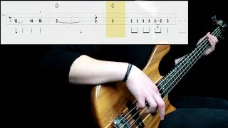 Iron Maiden   Wasted Years (Bass Cover) (Play Along Tabs In Video)