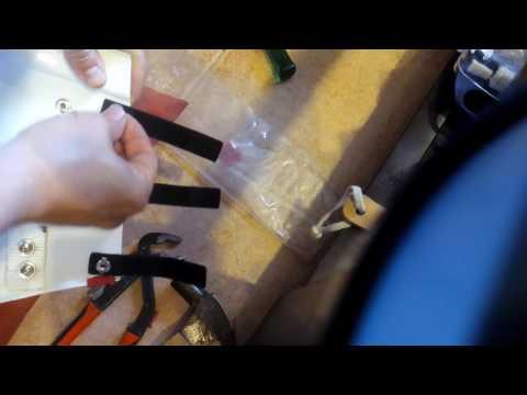 Cómo colocar split rivets remaches bifurcados stormtrooper anh stunt legion 501 tutorial