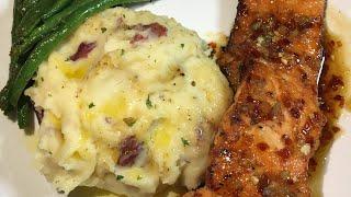 Cheesy Garlic Mashed Potatoes||Gouda Cheese 😋