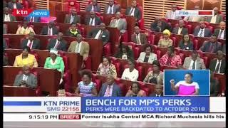 CJ Maraga picks a three-judge bench to hear MPs house allowance case