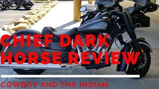 Best Motorcycle? Chief Dark Horse Review