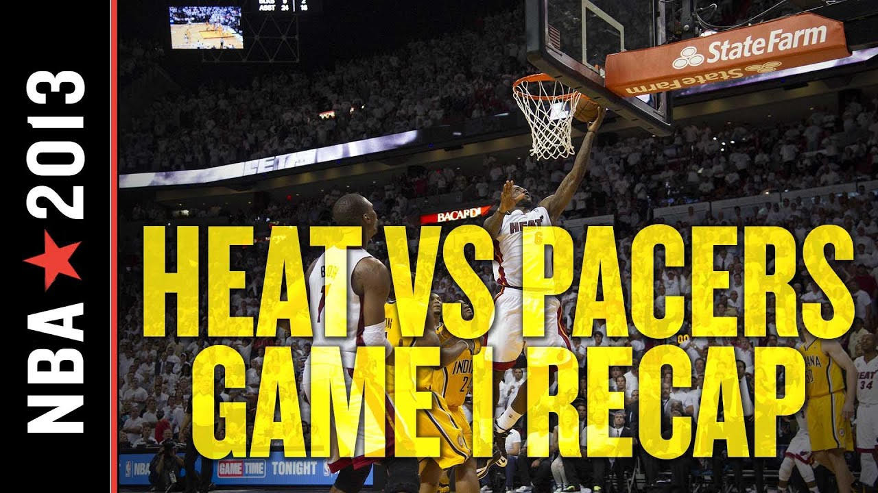 LeBron James Buzzer Beater Propels Heat Past Pacers in Game 1 Thriller thumbnail