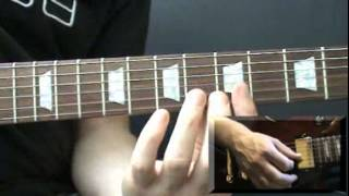 Step by Step Guitar Tuition - Learn to play The Bucket by Kings of Leon