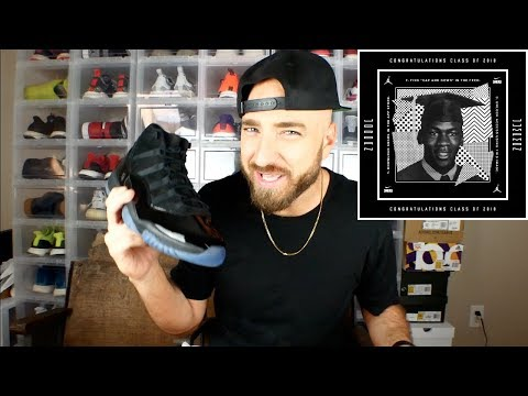 ed3a0befe52d03 Download Jordan 11 Cap and Gown Review   On Feet! MP3