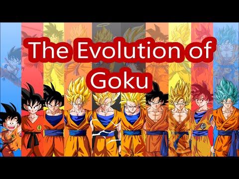 The Evolution of Goku - All Goku Transformations