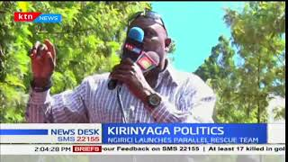 Andrew Ngirici launches parallel rescue team in Kirinyaga county