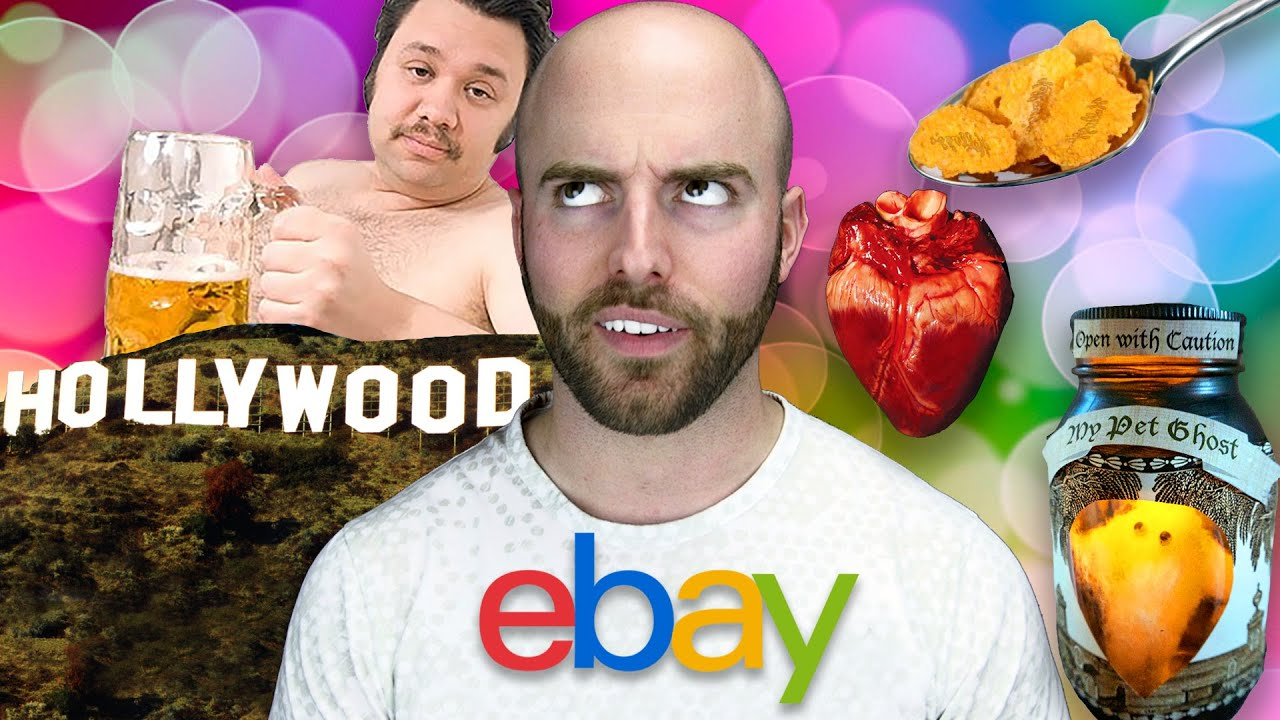 10 WEIRDEST Things Ever Sold on eBay! thumbnail