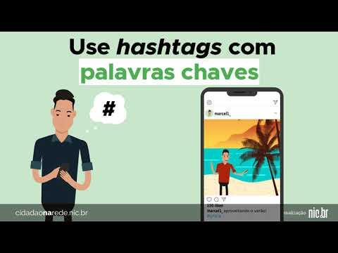 Imagem de capa do vídeo - Hashtags facilitam a busca de conteúdo