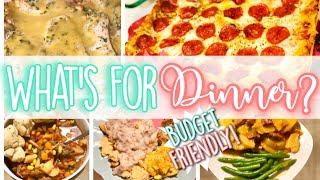 WHAT'S FOR DINNER? BUDGET FRIENDLY USING THANKSGIVING SALE ITEMS! *5* RECIPES!