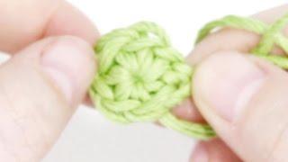 Кольцо амигуруми (волшебное, скользящее) - 7 урок