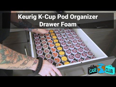 Keurig Pod Organizer Drawer Foam - Featured Youtube Video