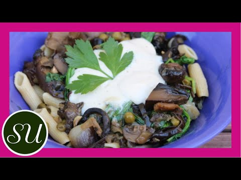 Vegan Mushroom Stroganoff Recipe | Collab with The Whole Food Plant Based Cooking Show
