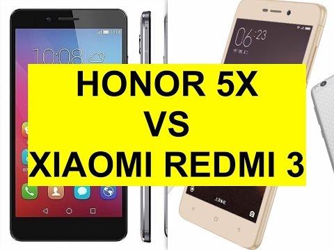 Honor 5X vs Xiaomi Redmi 3