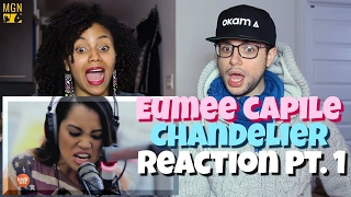 Eumee Capile   Chandelier Reaction Pt.1
