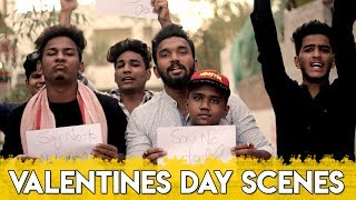 Valentines Day Scenes   Hyderabadi Comedy   Warangal Diaries