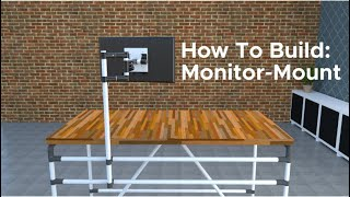 How To Build: Monitor Mount | Flexpipe