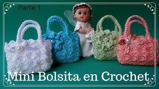 Mini BolsitaTejida A Crochet /Ideal Para El Dia De La Madre/PARTE 1
