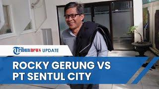 Adu Kuat Bukti Kepemilikan Tanah Rocky Gerung Vs Sentul City, Ini Penjelasan BPN Bogor