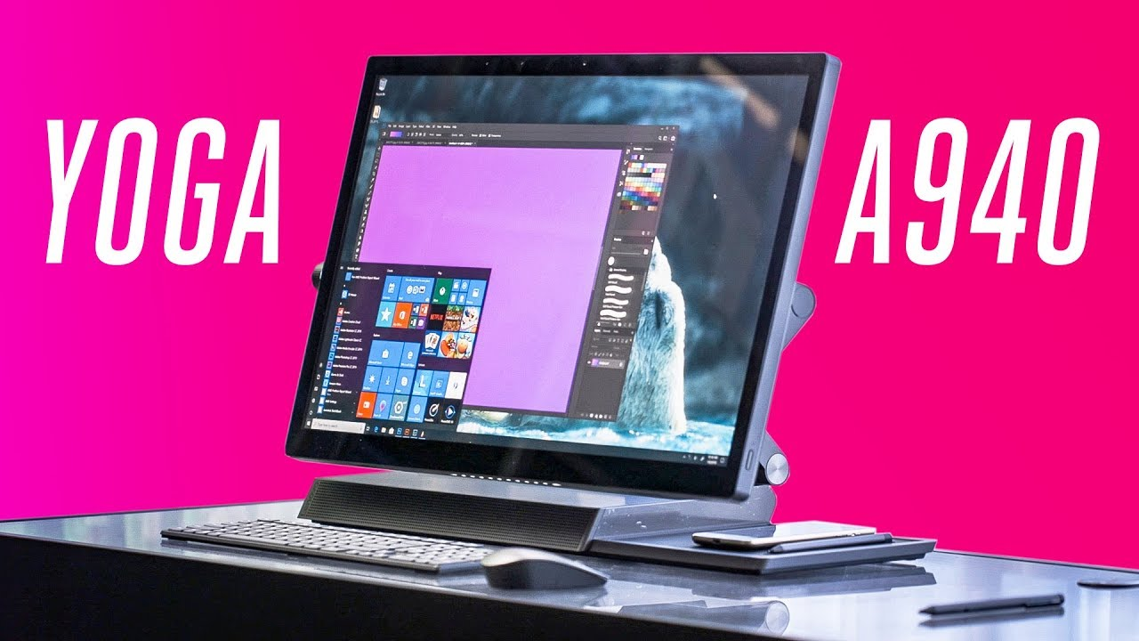 The Lenovo Yoga A940 is a Surface Studio competitor thumbnail