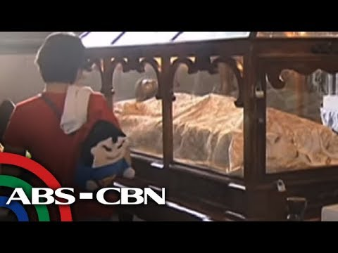 [ABS-CBN] Bandila: Replica ng Shroud of Turin, tampok sa ABS-CBN chapel