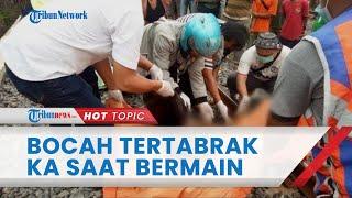Bocah 10 Tahun di Bekasi Tewas Tertabrak Kereta Api saat Bermain, Korban Tak Dengar Teriakan Warga