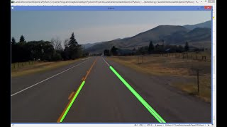 OpenCV Python Tutorial For Beginners 31 - Road Lane Line Detection with OpenCV (Part 1)