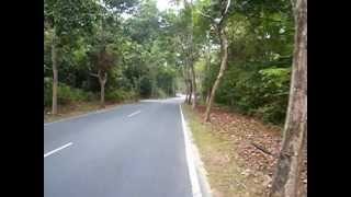 preview picture of video 'From Geopark hotel to Mutiara_beach'