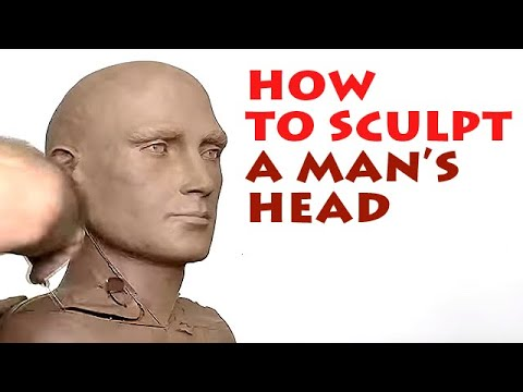 sculpture male head tutorial by alexander cherkov