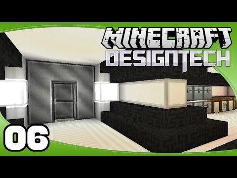 DesignTech - Ep. 6: Base Design | Minecraft Custom Modpack Let's Play