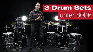 Schlagzeuge unter 800 Euro im Vergleich – Komplette Drumsets für Einsteiger bei session