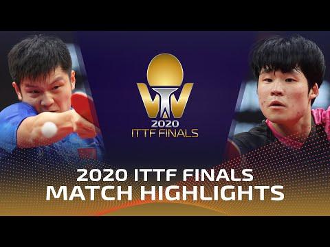 판젠동 vs 장우진 | Bank of Communications 2020 ITTF Finals (1/2)