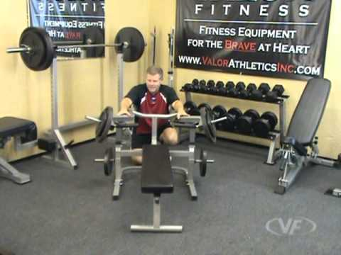 Valor Fitness BF-47 Independent Lever Bench