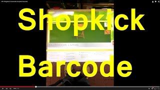 OBI Klapptisch Greenville shopkick barcode