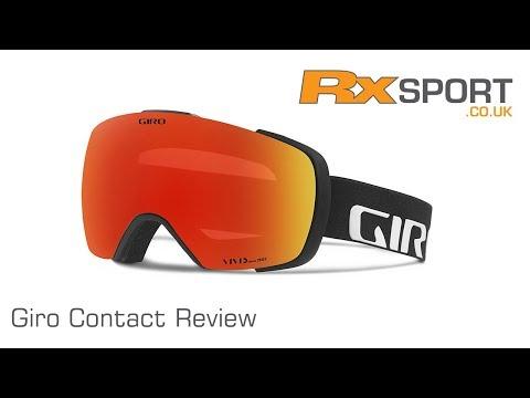 Giro Contact Ski Goggle Review | RxSport.co.uk