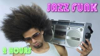 Jazz funk fusion music instrumental with added bass