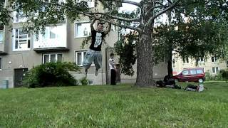 Our lives (acrobatic trainings footage from Pavuk, Owek and Šimon)