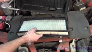 Air Filter Replacement Chevrolet Camaro