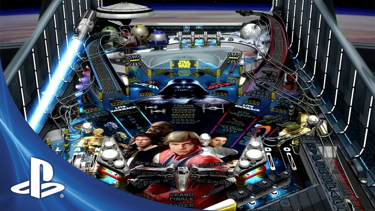 Star Wars Pinball Launches on PS3 and PS Vita This Month