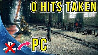 Ludwig's Holy Blade vs twin princes 0 hits taken